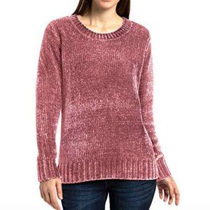 NWT Orvis Ladies' Chenille Sweater (S, Pink)